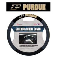 Poly-Suede Steering Wheel Cover Purdue Boilermakers - 58579