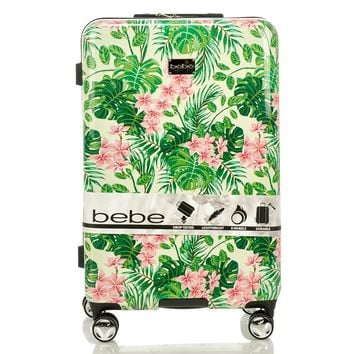 "Tropical Floral 29"" Hardside Spinner Luggage 612954241"