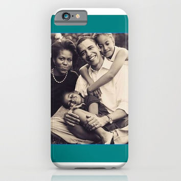 obamafamily iPhone & iPod Case by Kathead Tarot/David Rivera