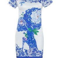 Floral Print Casual Midi Dress