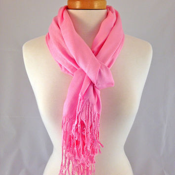 French Rose Pashmina