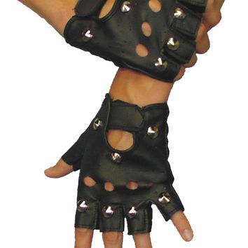 Gloves Ez Rider Studded Halloween Accessories