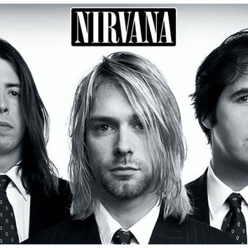 Nirvana Look Sharp! Kurt Cobain Poster 11x17