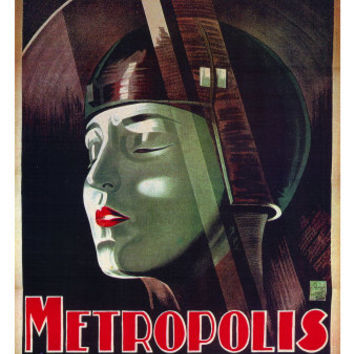 Metropolis, French Movie Poster, 1926 Art at AllPosters.com