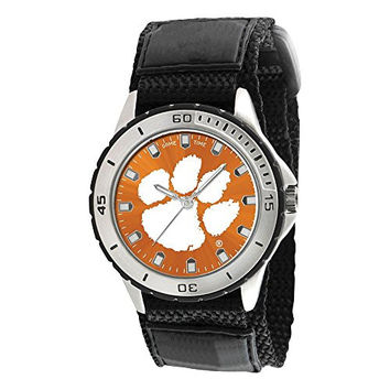 Mens Clemson University Veteran Watch, Best Quality Free Gift Box Satisfaction Guaranteed