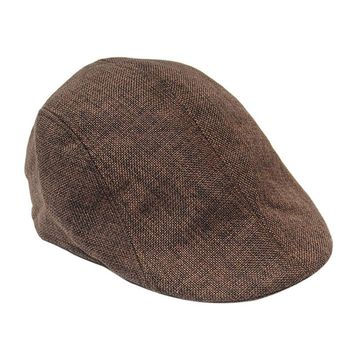 Boina Golf Country Men's Spine Fish Vintage Flat Cap