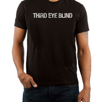 Third Eye Blind, 3eb, Ursa Major, Out of the Vein, Blue, alt rock, t-shirt, band merch, golden goods - Third Eye Blind