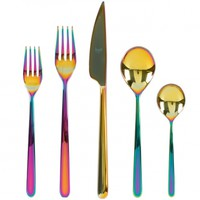 Linea Rainbow Five Piece Place Setting - Gretel