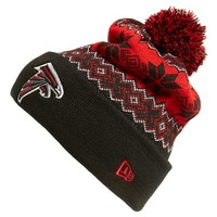 Men's New Era Cap 'Snowburst - NFL Atlanta Falcons' Pom Knit Cap