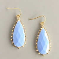 Elegant Periwinkle Earrings