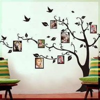Removable Wall Decor Decal Sticker (Tree Vine Sticker) (DESIGN 1, 1)