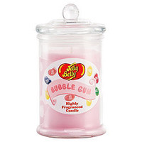 Jelly Belly Scented Candle Jar - Pink