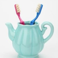 UrbanOutfitters.com > Teapot Toothbrush Holder