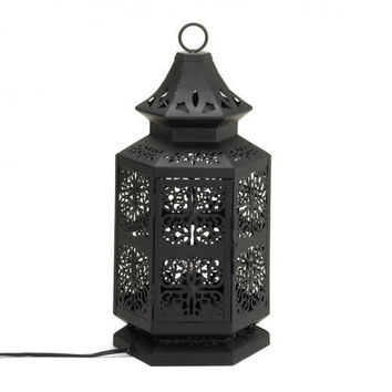 Large Moroccan Style Table Lamp