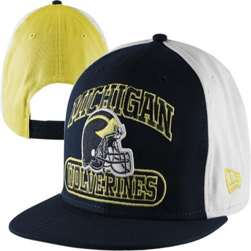 New Era Michigan Wolverines Thrizzle 9FIFTY Snapback Hat