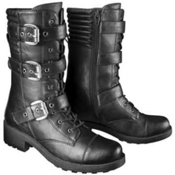 Women's Mossimo Supply Co. Valerie Combat Boot - Black
