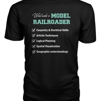 What make a model railroader shirt Premium Unisex Tee