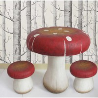 Toadstool Table - Available with Matching Stools