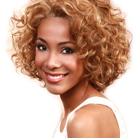 Bobbi Boss MHLF D Human Hair Lace Front Wig