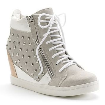 Sacred Heart Daynell Wedge Sneakers - Juniors