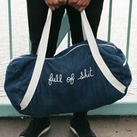 Full of Shit Sleepover Bag