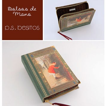 The Secret Garden Book Clutch