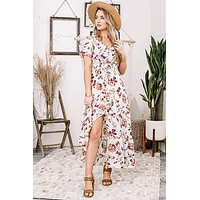 MAXImum Flirtation Floral Dress