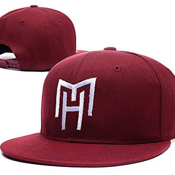 RHXING Monster High Haunted Logo Skullette Logo Adjustable Snapback Embroidery Hats Caps - Red