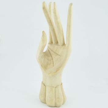 Wooden Hand Ring Holder -- Mexicali Blues