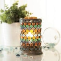 Scentsationals Peacock Mosaic Wax Warmer Gift Set - Walmart.com