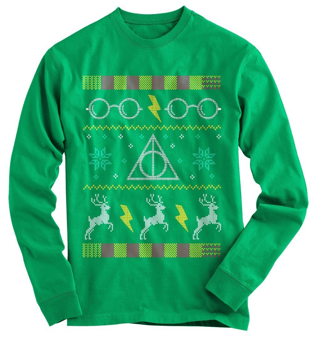 harry potter glasses ugly christmas sweater - Harry Potter Ugly Christmas Sweater