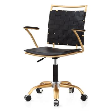 Black Modern Desk Chair