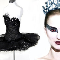 Black Swan Costume Made to Measure by Deconstructress on Etsy