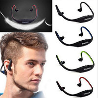 Fashion Wireless Bluetooth Sport Headset Stereo Earphone Earbuds Gift