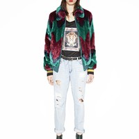 Street Style Faux Fur Coat by Push Button