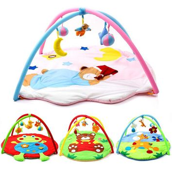 Baby Developing Mat For Newborns Cartoon Pattern Kids Rug Soft Thick Baby Activity Gym Educational Carpet For Children