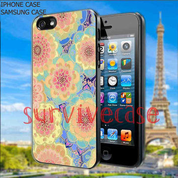 flower aztec-iPhone Case,Samsung Galaxy Case,Accessories,Case,Cover,iPhone 4/4s,iPhone 5/5s/5c,Samsung Galaxy s2/s3/s4,Rubber Case-16/12/61