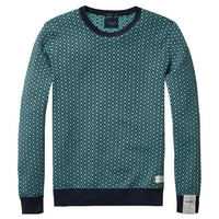 Teal and Navy Sweater by Scotch & Soda