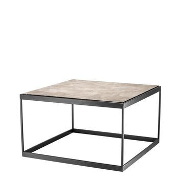 Beige Marble Side Table | Eichholtz La Quinta