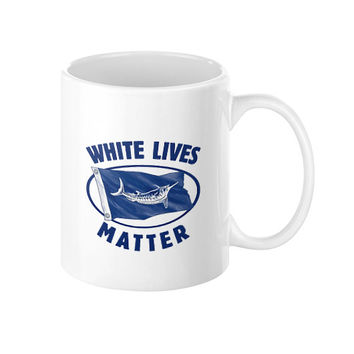 White Marlin Lives Matter Coffee Mug 11oz - 15oz cup