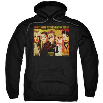 Kill Bill Deadly Viper Assassination Squad Licensed Adult Pullover Hoodie