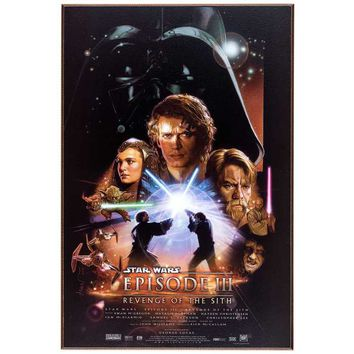 Star Wars Episode III MDF Movie Poster | Hobby Lobby | 1136498