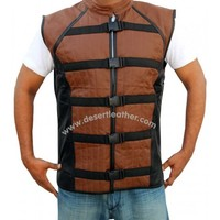 John Crichton Farscape Leather Vest | DesertLeather