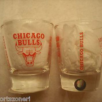 Chicago Bulls 2 oz. Shot Glass
