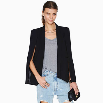 Cape Blazer Top