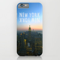 New York, New York iPhone & iPod Case by Louise Machado