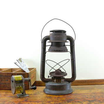 Vintage Lantern, Dietz Lantern, Outdoor Decor, Outdoor Lighting, Vintage Camping, NY USA
