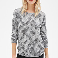 Abstract Brushstroke Sweater