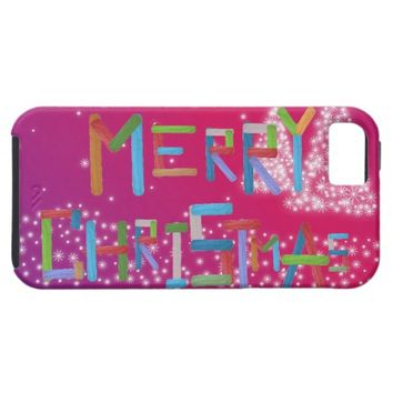 Merry Christmas iPhone SE/5/5s Case