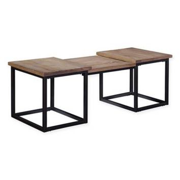 Broyhill Bedford Ave Martense Cocktail Table in Brown
